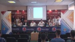 """Conferință de presă organizată de Asociația Obștească """"UNIREA - ODIP"""" cu tema """"77 de ani de ocupație sovietică și materiale video compromițătoare cu privire la lașitatea și trădarea lui Igor Dodon"""""""