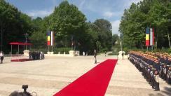 Ceremonia primirii oficiale a Președintelui Republicii Bulgaria, Rumen Radev, de către Președintele României, Klaus Iohannis