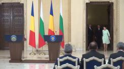 Conferință de presă susținută de Președintele României, Klaus Iohannis, și Președintele Republicii Bulgaria, Rumen Radev
