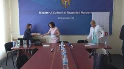 Conferință de presă privind acordarea suportului Republicii Moldova în conservarea patrimoniului cultural, din partea Institutului cultural Smithsonian din SUA