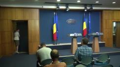Conferință de presă susținută de Primul Ministru interimar al României, Sorin Grindeanu