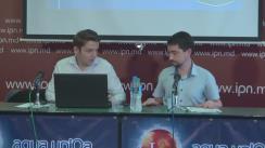 """Conferință de presă organizată de AO """"Comunitatea WatchDog.MD"""" cu tema """"Evaluarea impactului inițiativei legislative anti-propagandă a fracțiunii PD"""""""