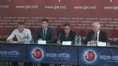 """Conferință de presă organizată de Asociația Oamenilor de Afaceri Moldoveni de Pretutindeni cu tema """"Oamenii de afaceri din diasporă susțin financiar și logistic fermierii din Republica Moldova"""""""