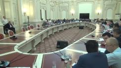 Audierea candidatului la funcția de Ministru al Afacerilor Externe, Teodor-Viorel Meleșcanu