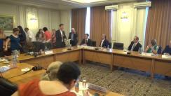 Audierea candidatului la funcția de Ministru delegat pentru Afaceri Europene, Victor Negrescu