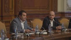 Audierea candidatului la funcția de Ministru al Muncii și Justiției Sociale, Lia-Olguța Vasilescu