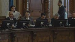 Audierea candidatului la funcția de Ministru al Transporturilor, Alexandru Răzvan Cuc