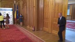 Declarație de presă susținută de Președintele PMP, Traian Băsescu