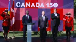 Recepția oferită de Ambasada Canadei cu ocazia aniversării a 150 de ani de la fondarea statului canadian