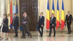 Ceremonia de depunere a jurământului de învestitură a membrilor Guvernului României condus de Mihai Tudose