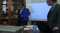 """Dezbaterea """"Coloniile de țigani din Transnistria 1942-1944: organizare internă și viață cotidiană"""""""