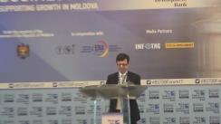 """Business Forumul Regional cu tema """"Moldova: Lucrând împreună pentru a sprijini creșterea"""""""