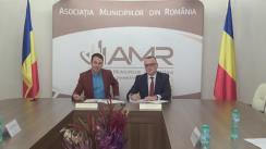 Semnarea protocolului de colaborare dintre Asociația Municipiilor din România și Consiliul Național al Rectorilor