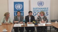 """Conferință de presă pe tema """"Rezultatele licitațiilor organizate de PNUD, în cadrul unui proiect de asistență în domeniul achizițiilor de medicamente vitale pentru pacienții din Republica Moldova"""""""