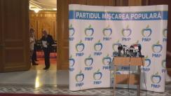 Conferință de presă după ședința Consiliului Executiv Național al PMP din 4 iulie 2017
