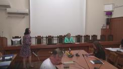 """Conferință de presă pe tema """"Descentralizarea serviciului endoprotezare de șold și genunchi în Republica Moldova"""""""