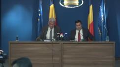 Declarații după vizita Premierului României, Mihai Tudose, la Ministerul Transporturilor