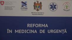 """Simpozionul organizat de Ministerul Sănătății cu tema """"Organizarea, funcționarea și triajul pacienților în Unitățile de Primiri Urgențe"""""""