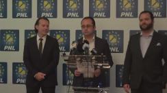 Conferință de presă susținută de Cristian Bușoi, Florin Cîțu și Marius Vintilă