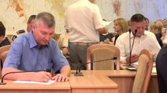 Ședința săptămânală a serviciilor primăriei Chișinău din 10 iulie 2017