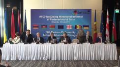 Conferință de presă susținută de către miniștrii de externe ai Statelor Parteneriatului Estic și Comisarul European pentru Politica Europeană de Vecinătate și Negocieri de Extindere, Johannes Hahn