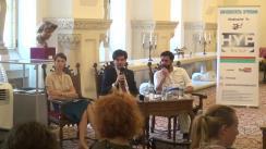 Conferință de presă privind lansarea proiectului Cotroceni Creativ, inițiat de Muzeul Național Cotroceni și co-finanțat de Administrația Fondului Cultural Național