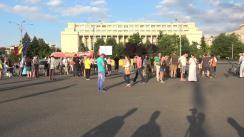 """Protestul """"Apărarea justiției independente"""""""
