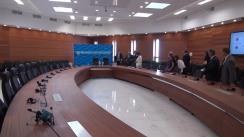 Conferință de presă susținută de Ministrul Afacerilor Externe și Integrării Europene, Andrei Galbur, și Ministrul Afacerilor Externe al Georgiei, Mikheil Janelidze
