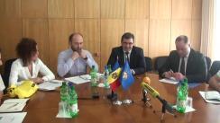 Ședință comună pe teme de actualitate cu participarea conducerii Procuraturii Generale și reprezentanților Amnesty International în Moldova