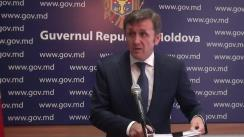 Declarațiile lui Iurie Ciocan după ședința Guvernului Republicii Moldova din 10 iulie 2017