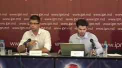 """Conferință de presă organizată de Institutul pentru Drepturile Omului din Moldova cu tema """"Condamnări pentru rele tratamente în instituțiile psihiatrice"""""""