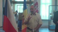 """Evenimentul de lansare a timbrului personalizat și a ștampilei cu obliterare specială """"25 de ani de relații diplomatice Republica Moldova-Republica Cehă"""""""