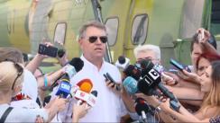Declarațiile Președintelui României, Klaus Iohannis, după vizitarea Centrul Administrativ Mihail Kogălniceanu din județul Constanța