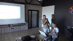 """Prezentarea ideilor înscrise la hackathonul de media """"Puterea a cincea"""""""