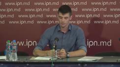 """Conferință de presă organizată Asociația Obștească """"UNIREA - ODIP"""" cu tema """"Ministerul Educației din Republica Moldova duce o politică antinațională și persecută românismul"""""""