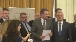 Conferință de presă organizată de Autoritatea de Supraveghere Financiară prilejuită de cea de-a doua dezbatere publică privind Proiectul de Norma RCA
