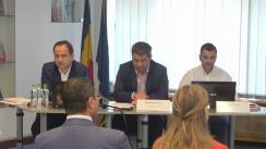 """Dezbateri publice cu tema """"Proiectul de Ordonanță a Guvernului pentru modificarea și completarea unor acte normative cu impact în domeniul achizițiilor publice"""""""