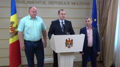 Declarația fracțiunii PSRM în timpul ședinței Parlamentului Republicii Moldova din 20 iulie 2017