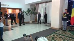 Conferință de presă susținută de Prim-ministrul Republicii Moldova, Pavel Filip, și Prim-ministrul României, Mihai Tudose