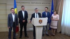 Declarația fracțiunii PLDM în timpul ședinței Parlamentului Republicii Moldova din 20 iulie 2017