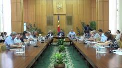 Ședința Comisiei națională pentru consultări și negocieri colective din 20 iulie 2017