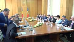 Ședința în format extins a delegațiilor Republicii Moldova și României