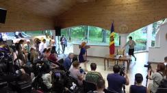 Președintele Republicii Moldova, Igor Dodon, în dialog cu presa