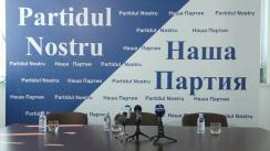 """Conferință de presă cu tema """"Partidul Nostru cere anularea Legii cu privire la sisemul electoral mixt"""""""