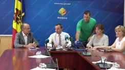 Conferința de presă organizată de Ministerul Economiei și Agenția pentru Protecția Consumatorilor în cadrul Campaniei de informare și monitorizare privind utilizarea corectă a mijloacelor de măsurare