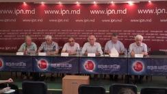 """Conferință de presă susținută de membrii Comisiei republicane de evaluare a lucrărilor de bacalaureat la fizică cu tema """"Detalii despre situația privind examenul de bacalaureat la fizică"""""""