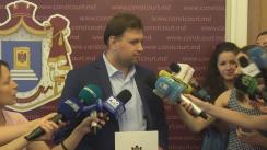 Declarațiile lui Maxim Lebedinschi după hotărârea Curții Constituționale la sesizarea pentru controlul constituționalității a decretului Președintelui Republicii Moldova privind desfășurarea referendumului republican consultativ