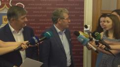 Declarațiile lui Mihai Ghimpu după hotărârea Curții Constituționale la sesizarea pentru controlul constituționalității a decretului Președintelui Republicii Moldova privind desfășurarea referendumului republican consultativ