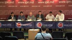 """Conferință de presă susținută de grupul de semnatari ai Petiției On-Line """"STOP sponsorilor regimului separatist"""", adresată Guvernului, Parlamentului și Președinției Republicii Moldova"""