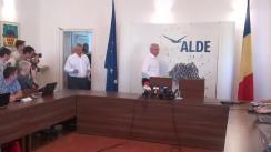 Declarație de presă după ședința coaliției de guvernare PSD-ALDE